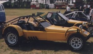 Photo of a road going Fugitive 2 once owned by John Dingley who previously ran the owners club. This car is fitted with a Rover V8 engine.