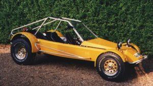 Ex UVA 4 seater demonstrator - photo taken June 1993. This car has 4 real seats unlike mine!